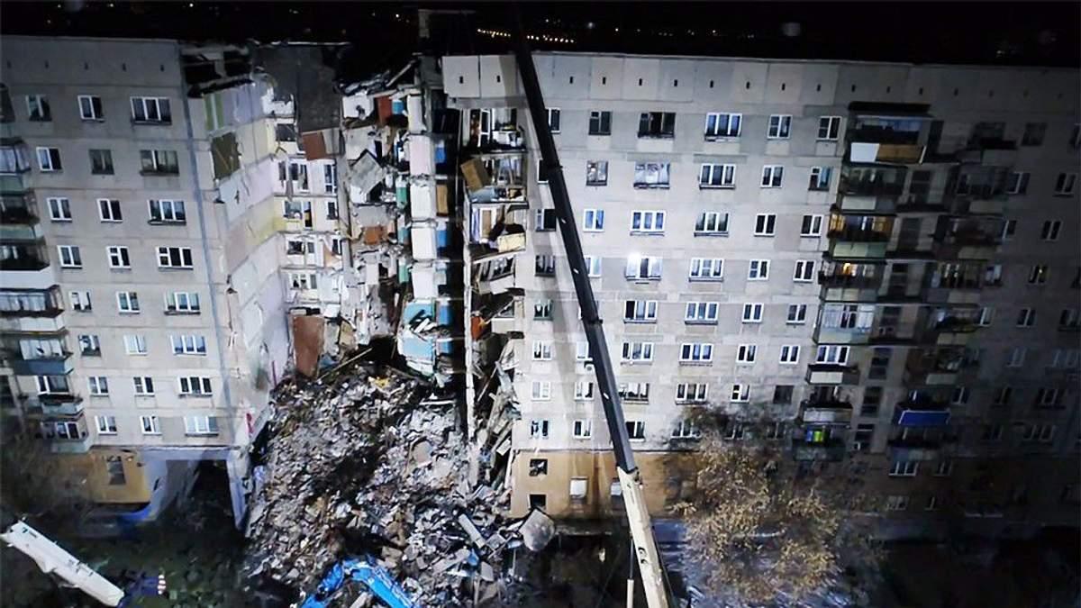 В Следственном комитете России утверждают, что в доме в Магнитогорске взорвался газ, и что это не дело рук террористов