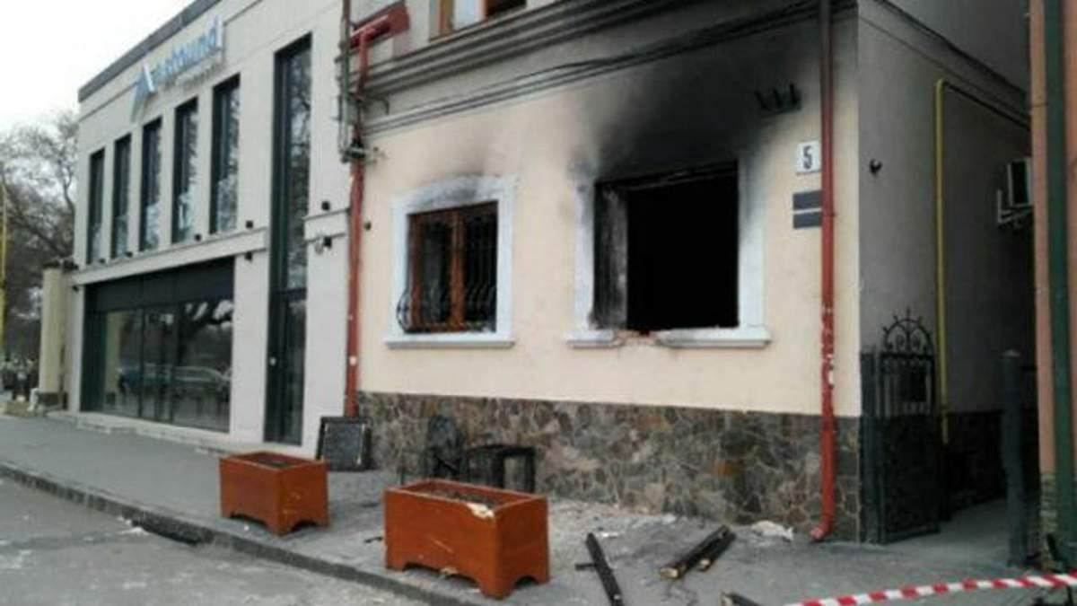 Підпал спілки угорців в Ужгороді: слідство знайшло російський слід
