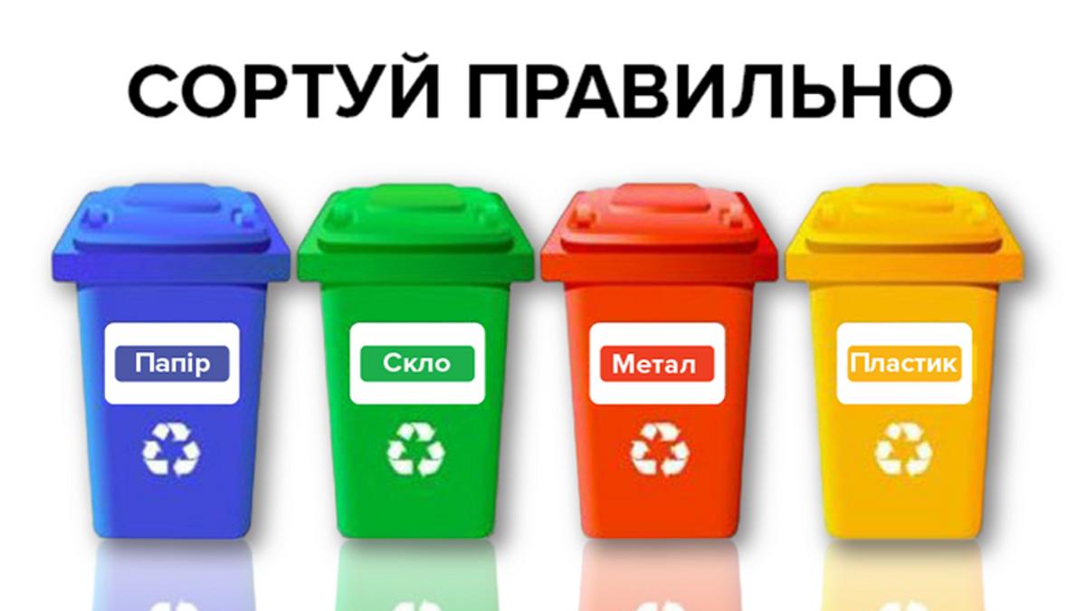 Сортування сміття: яка ситуація в Україні і що про це треба знати