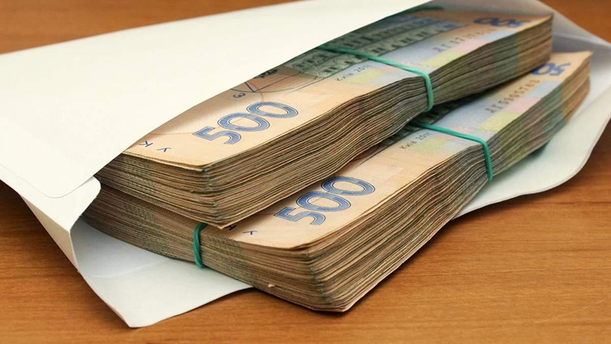 Сколько украинцев получают зарплаты в конвертах