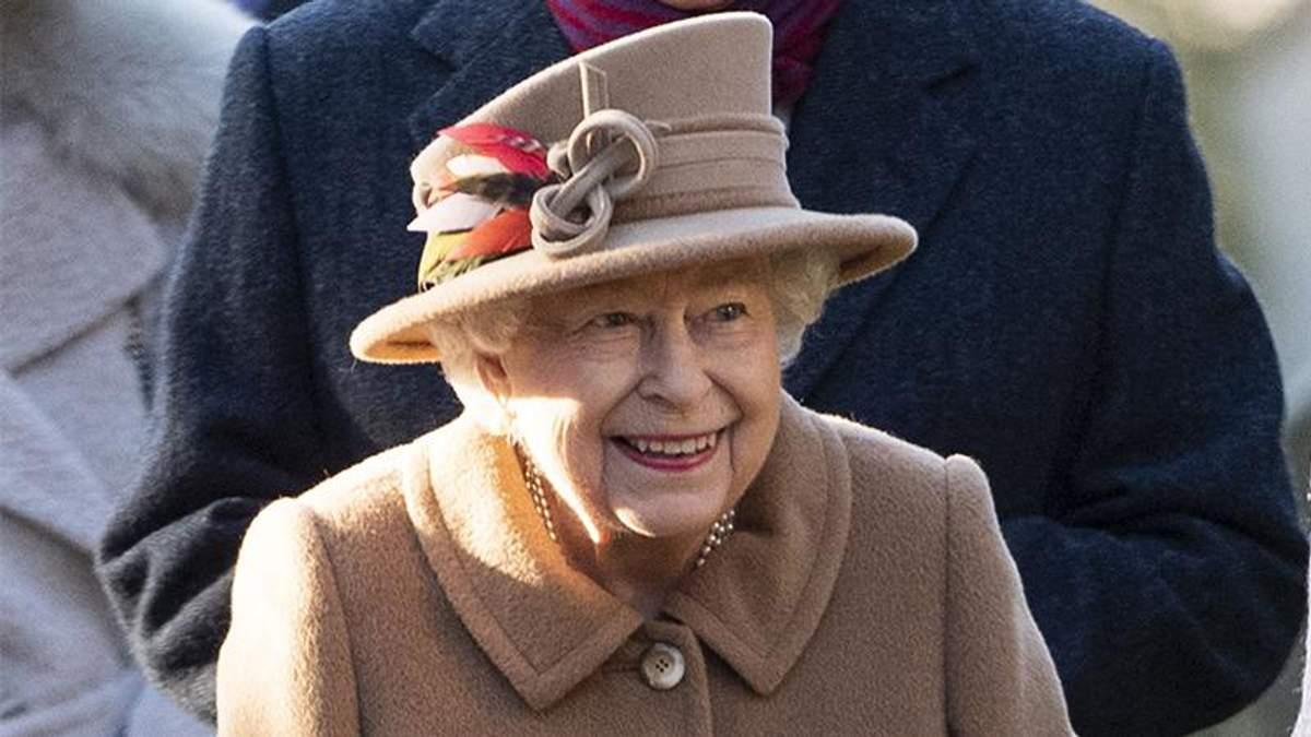 Королева Елизавета II посетила церковь