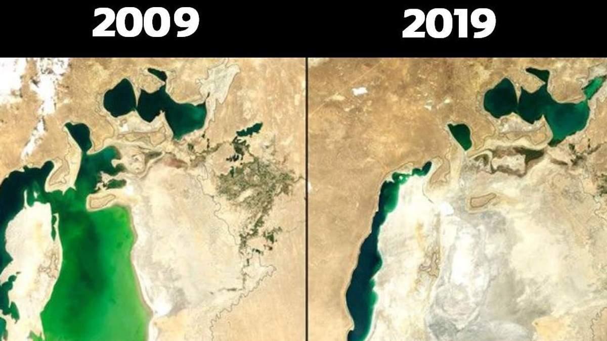 Екологічний флешмоб: як змінилася природа за 10 років