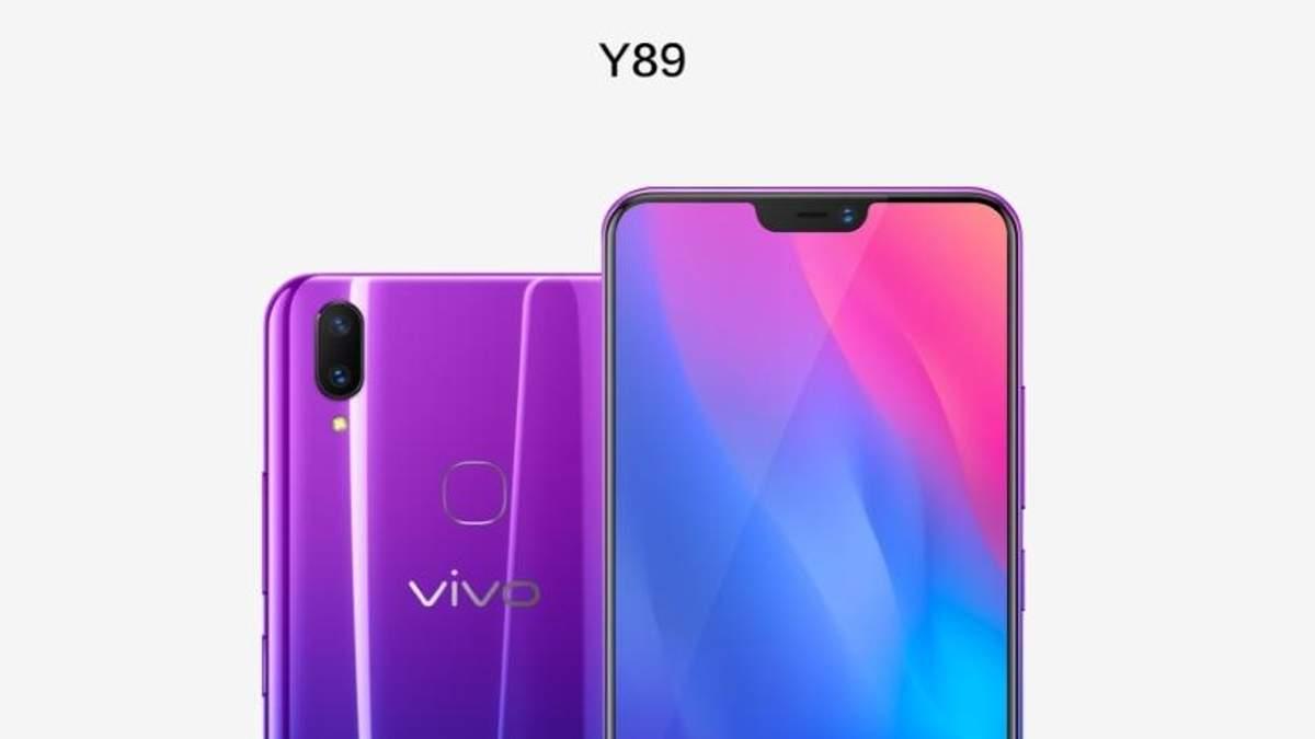 Vivo  Y89: характеристики и цена