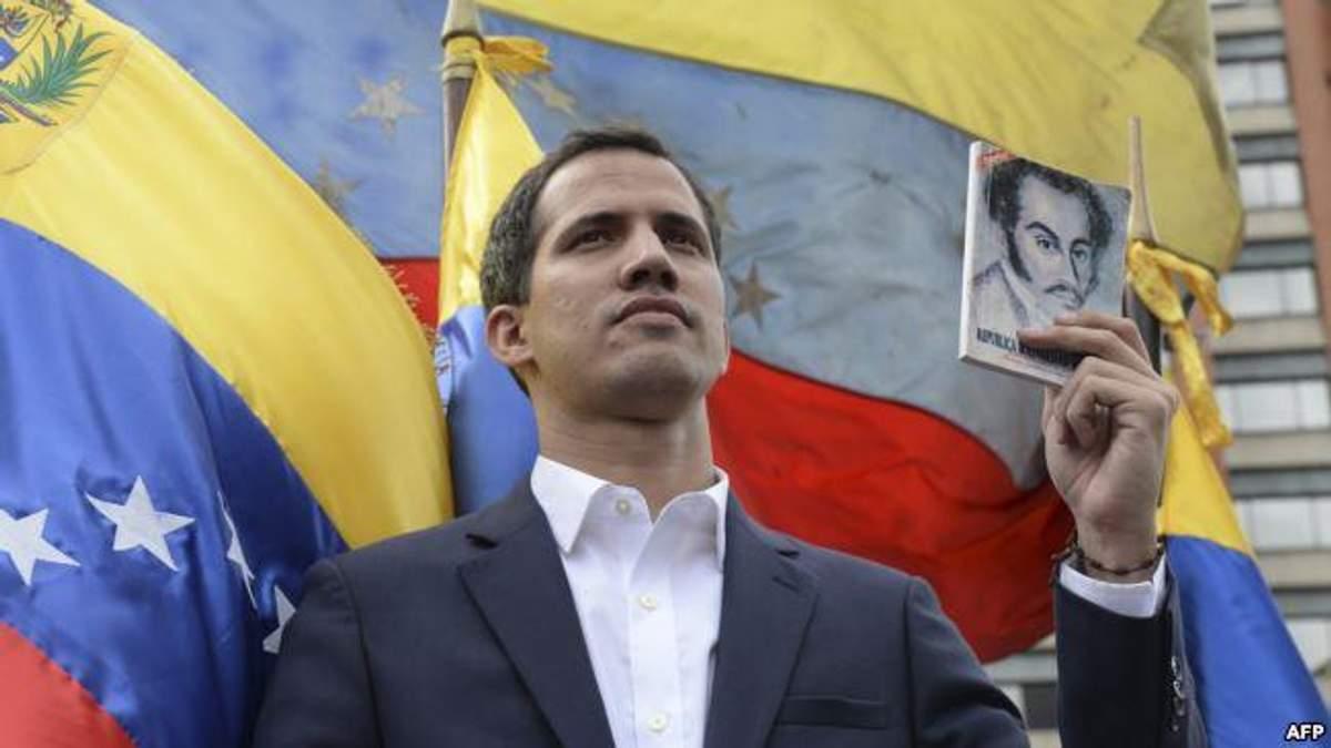 Хуан Гуаидо новый президент Венесуэлы: фото и видео