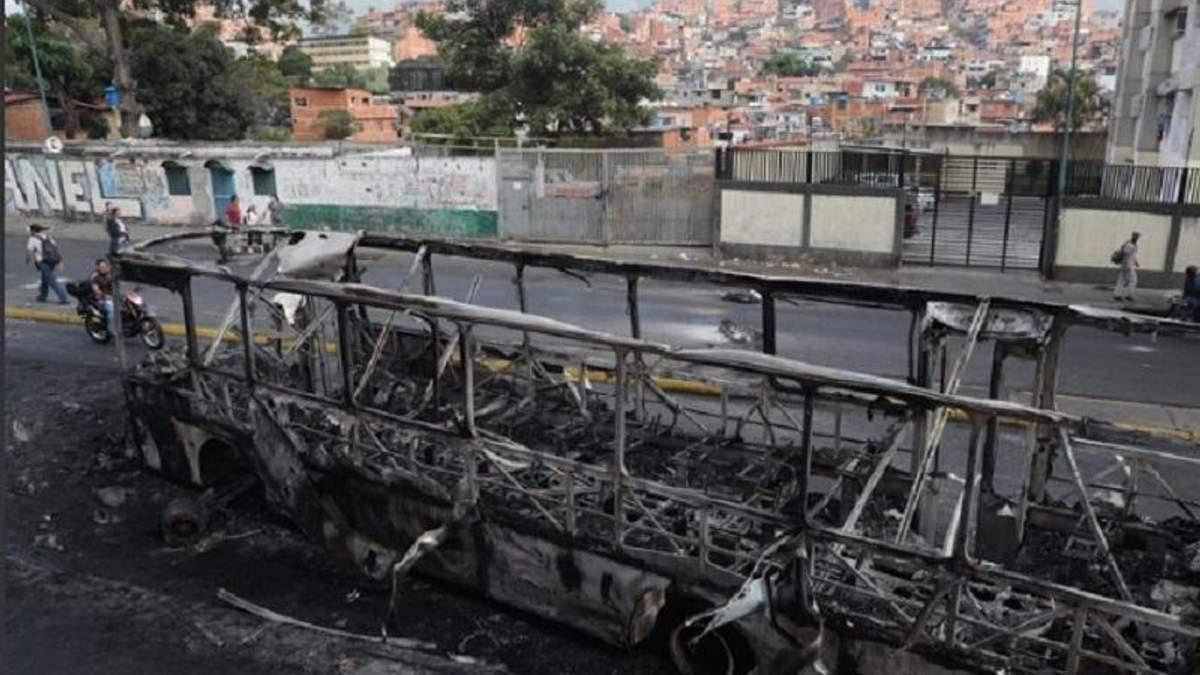 Переворот в Венесуелі 2019: загиблих від протестів вже 16 осіб