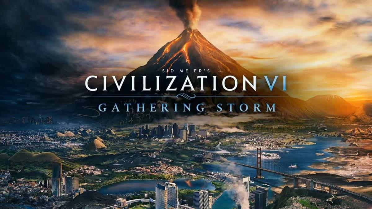 Civilization VI: Gathering Storm – трейлер