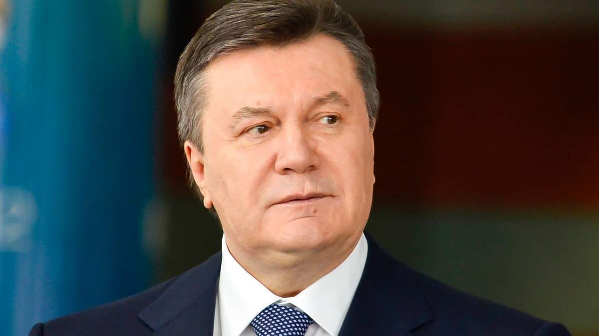 Суд вважає Януковича винним у заклику до Путіна ввести в Україну війська