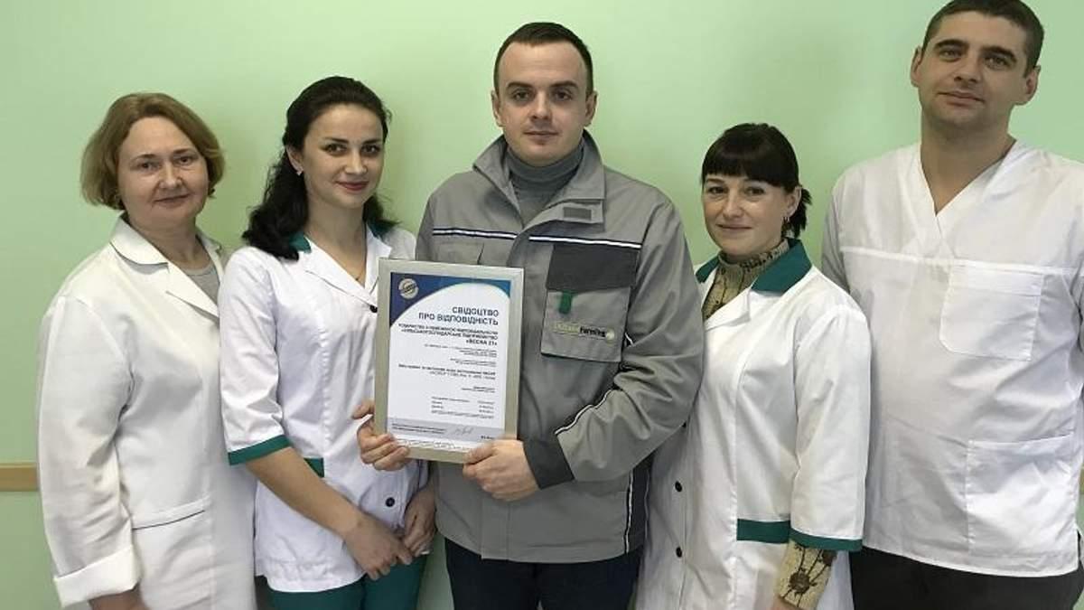 """Высочайшего качества: корма для несушек от """"Укрлендфарминг"""" получили международный сертификат"""