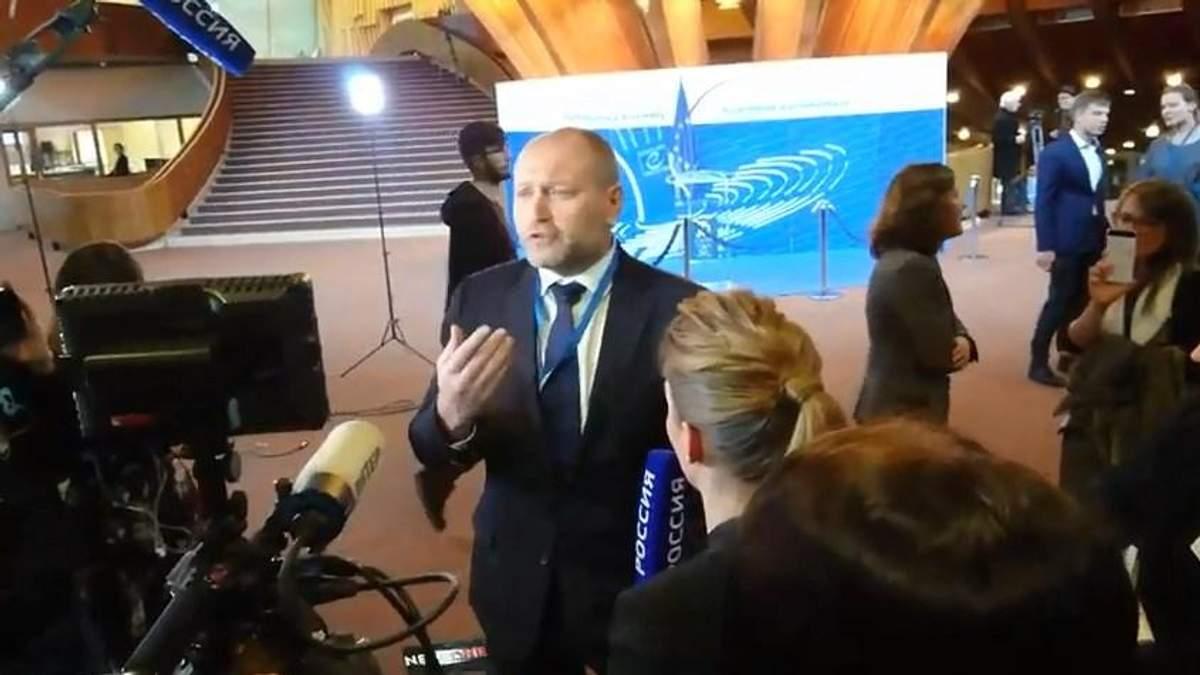 У ПАРЄ прокремлівська журналістка провокувала представників України: відео конфлікту