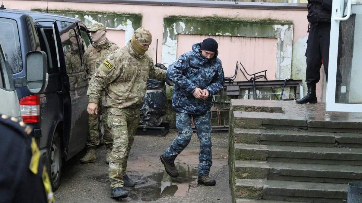 """Трьох поранених українських моряків перевели до СІЗО """"Лефортово"""""""