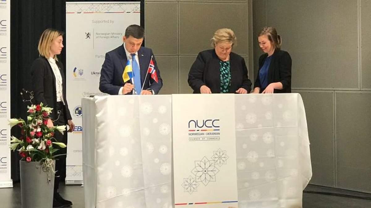 Норвегія інвестує у відновлювальну енергетику України 1 мільярд доларів
