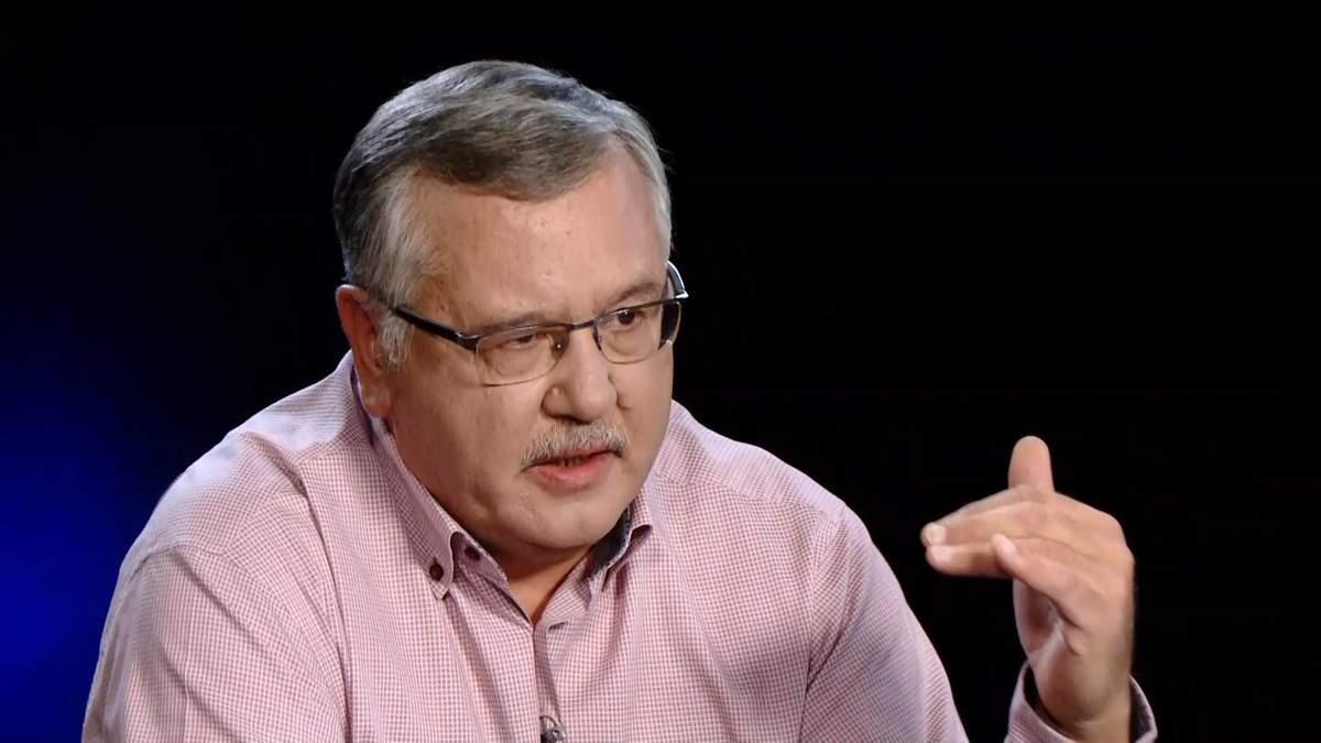 Анатолій Гриценко оприлюднив декларацію про доходи за 2017 рік