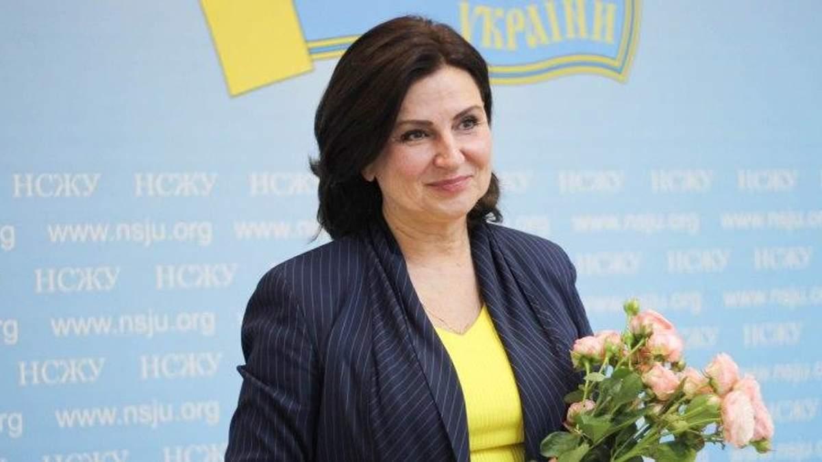 Інна Богословська подала документи до ЦВК
