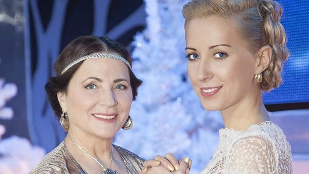 Ніна Матвієнко з донькою Тоньою