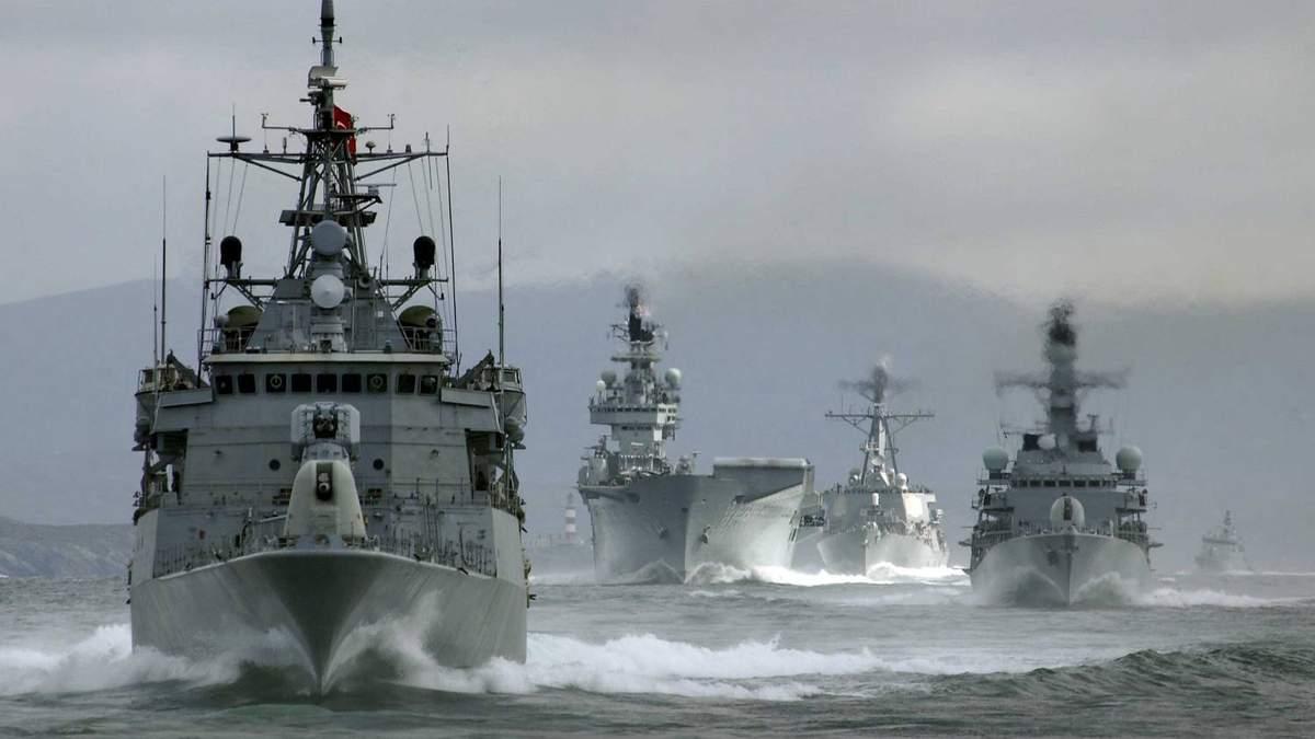 Німеччина готова надіслати кораблі у Чорне море, щоб стримати Росію