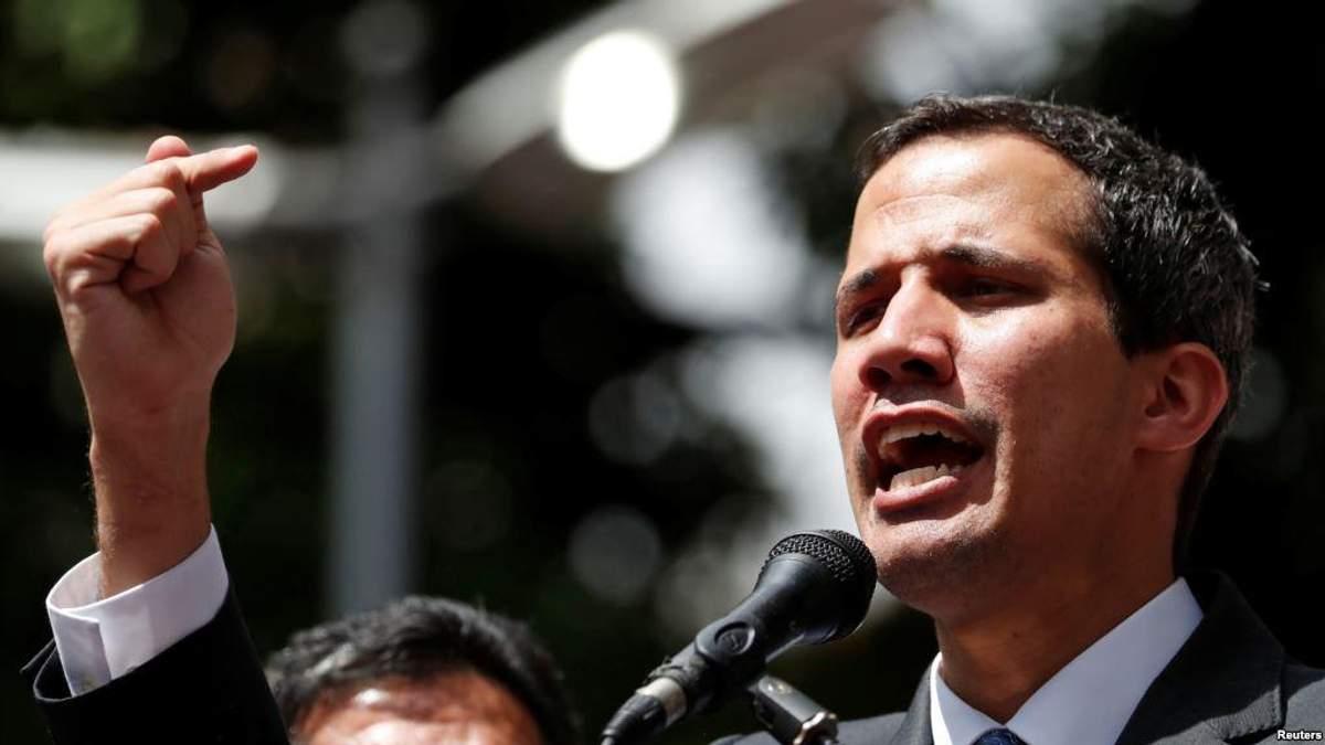 Вже вісім країн Європи визнали Гуайдо президентом Венесуели