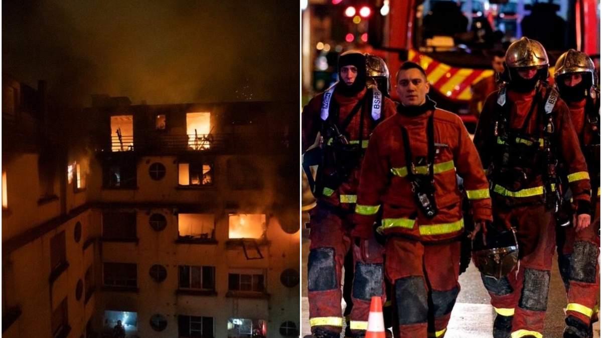 Смертельный пожар в Париже