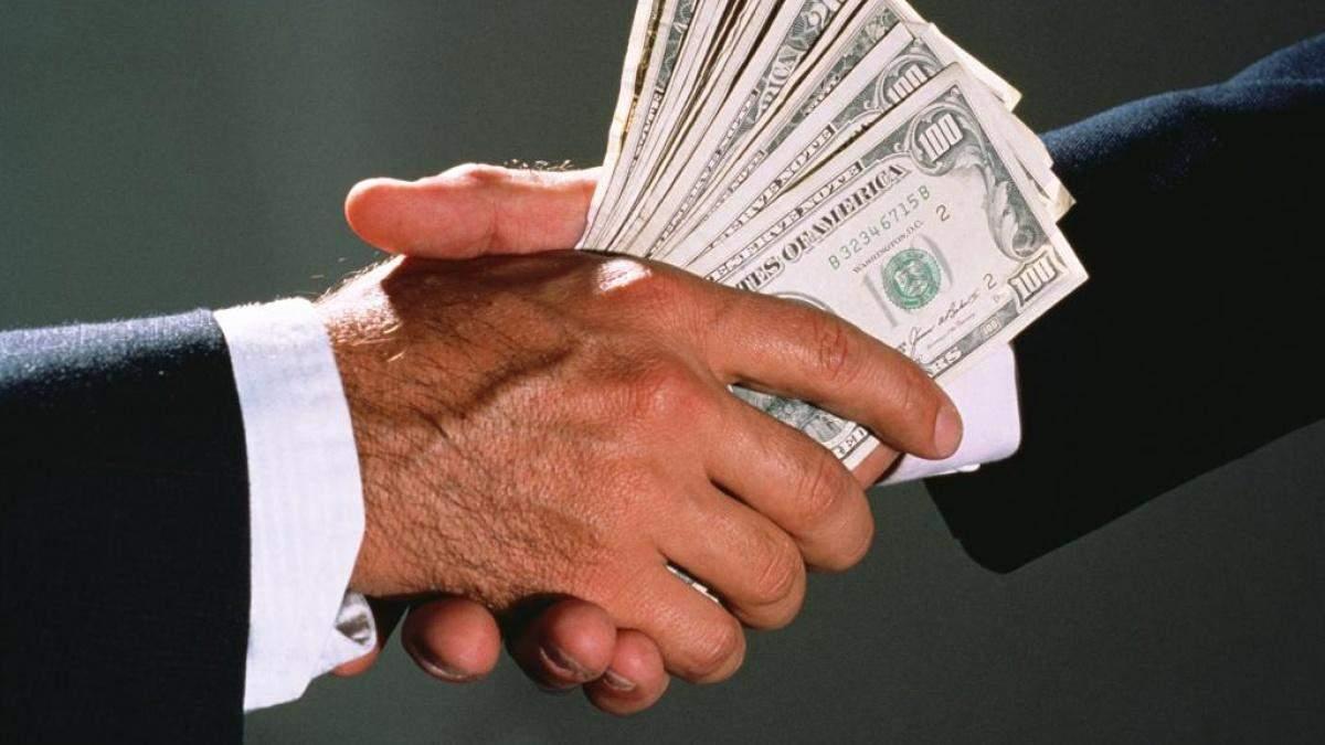 Корупція роз'їдає Україну зсередини
