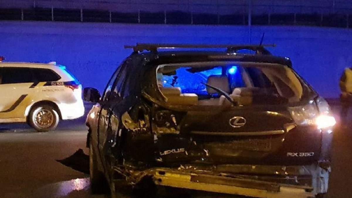 Очередная авария под Киевом