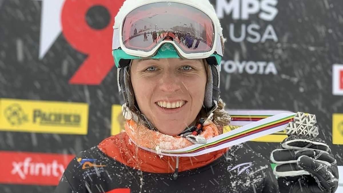 """Аннамарі Данча стала """"срібною"""" призеркою в паралельному слаломі на чемпіонаті світу"""