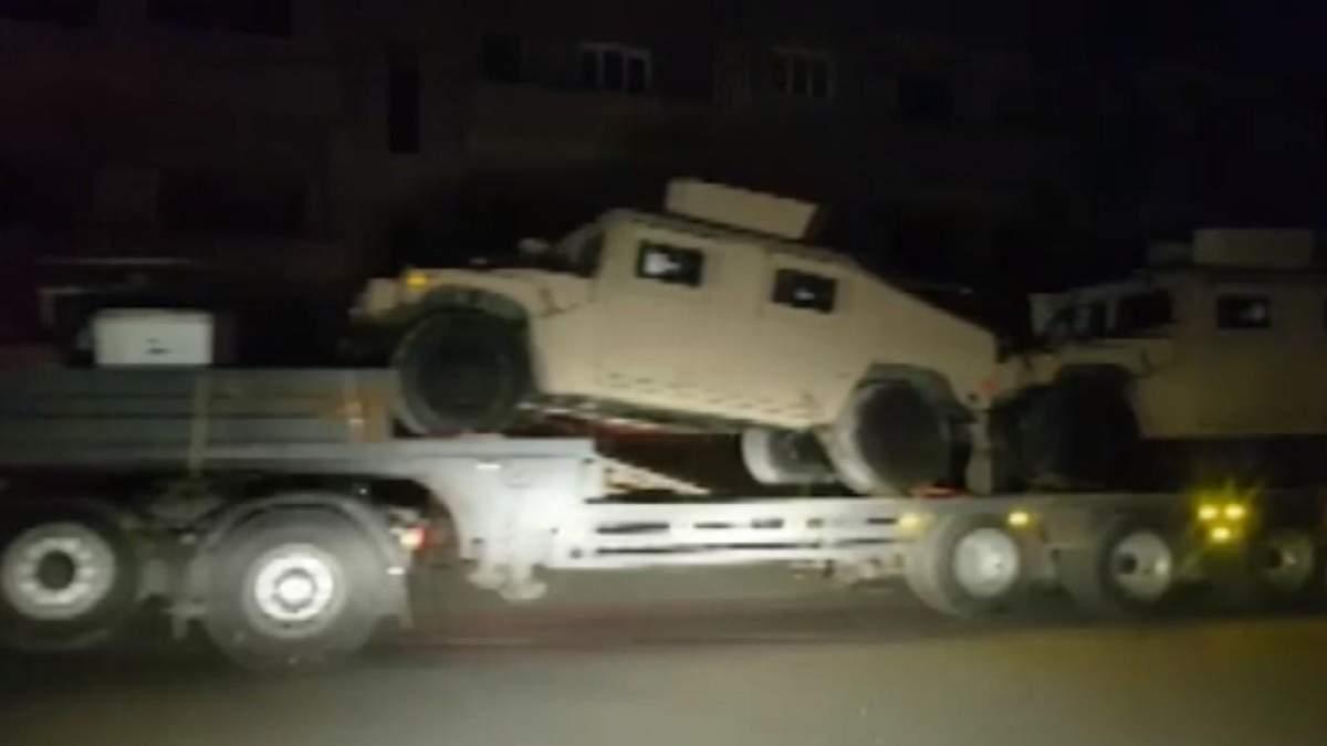 США перебросили бронетехнику из Ирака для усиления присутствия в Сирии