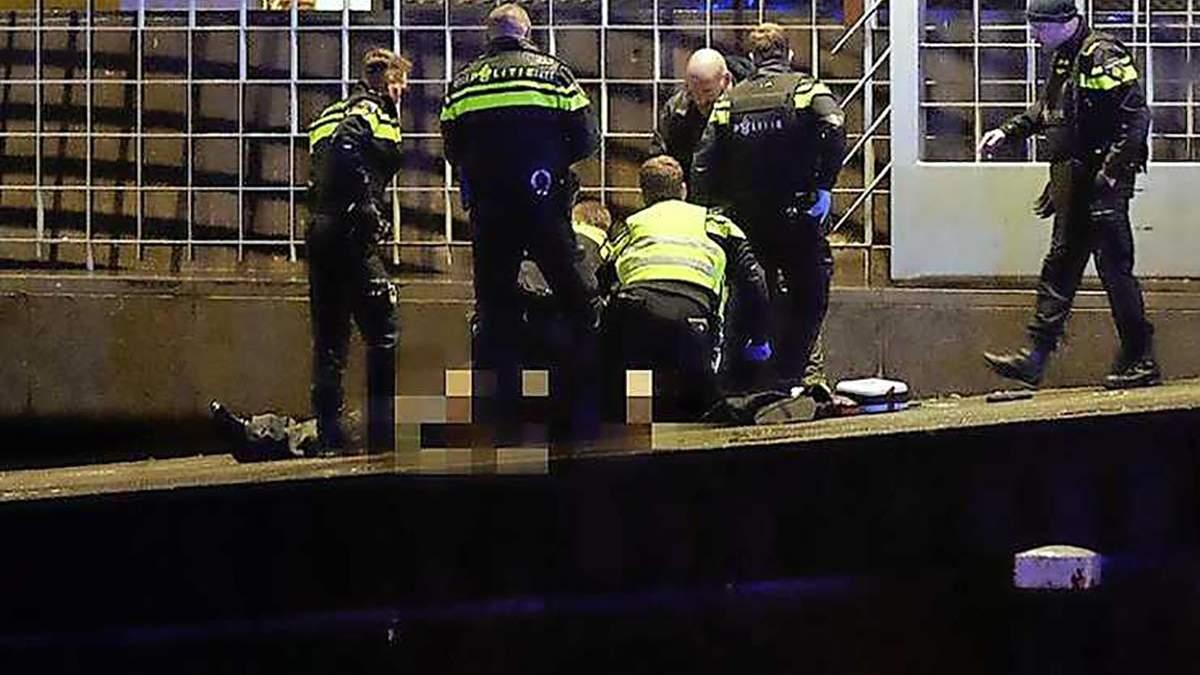 Стрілянина в Амстердамі: є жертви - фото і відео з місця стрілянини