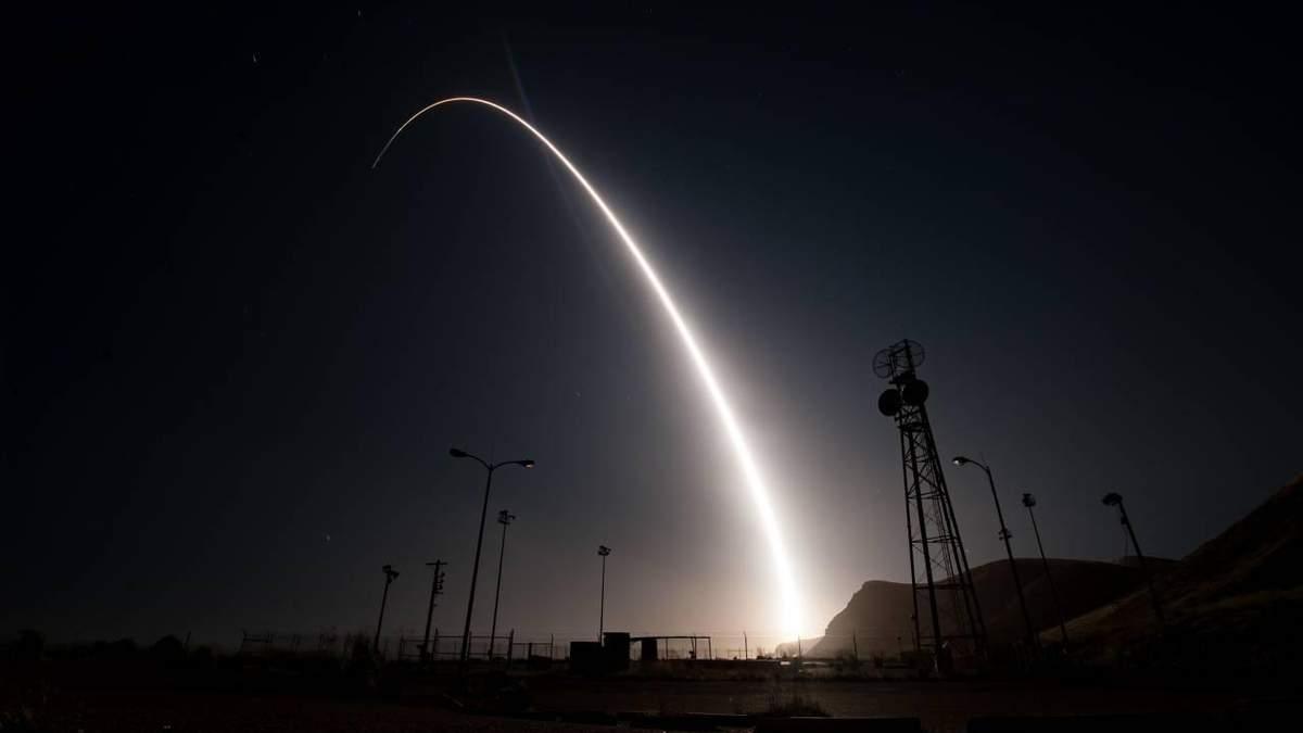 США провели випробування міжконтинентальної ракети Minuteman III