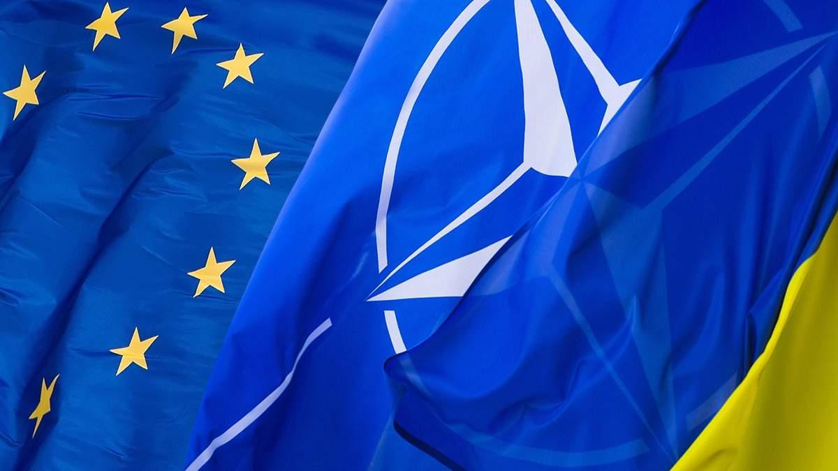 Изменения в Конституцию Украины курса в ЕС и НАТО 2019 - решение Рады