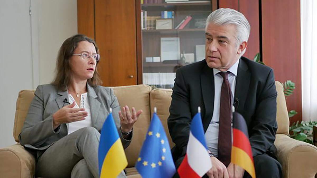 Скорое вступление в ЕС или НАТО нереалистично, – дипломаты Франции и Германии