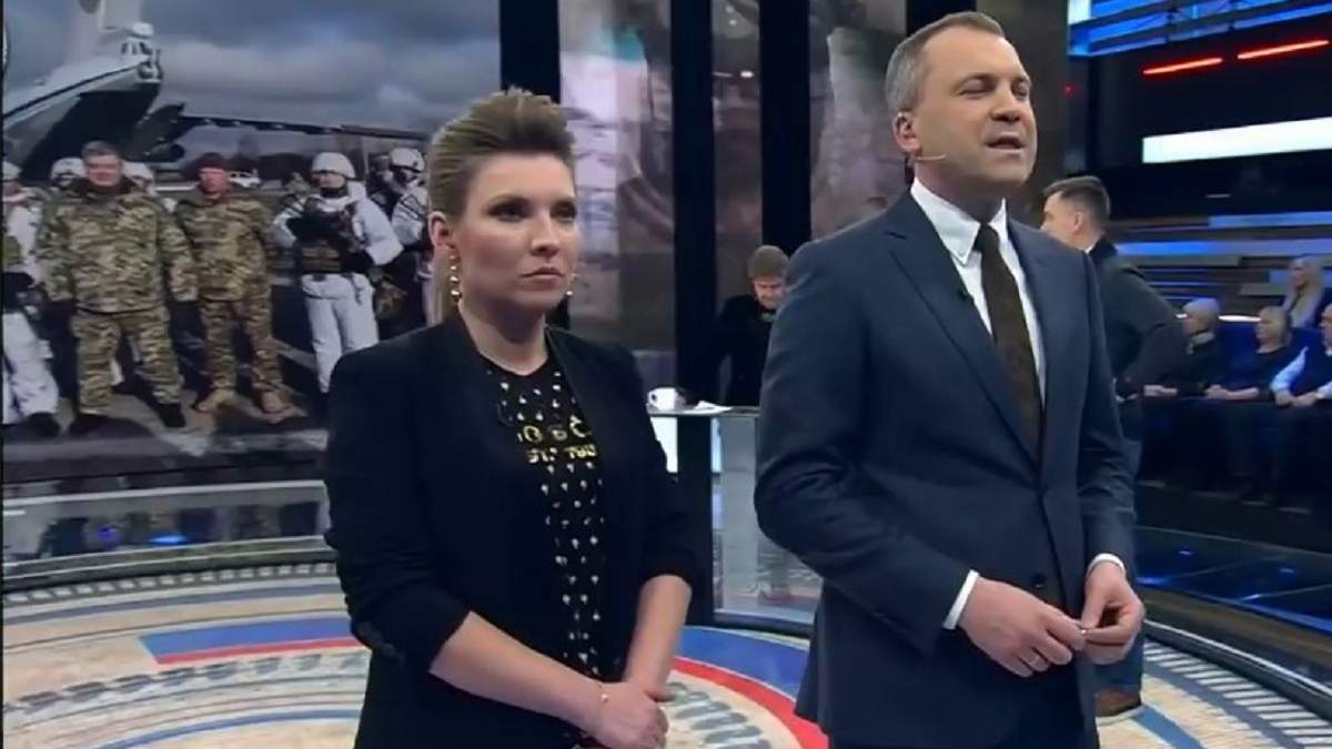"""""""Нацисти"""": кремлівські пропагандисти влаштували чергову істерику в ефірі через Україну"""