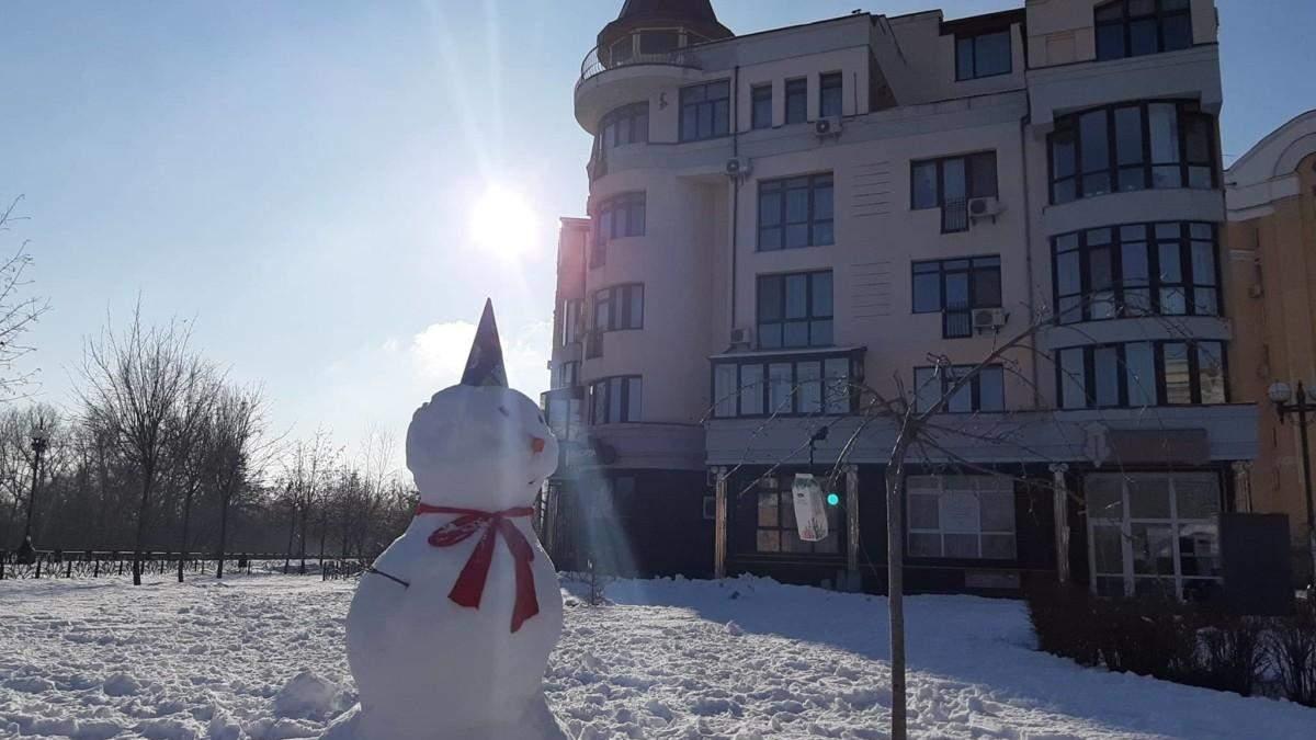 Дом, в котором расположена элитная квартира Януковича