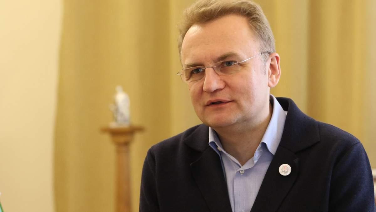 Садовый назвал условия завершения войны на Донбассе