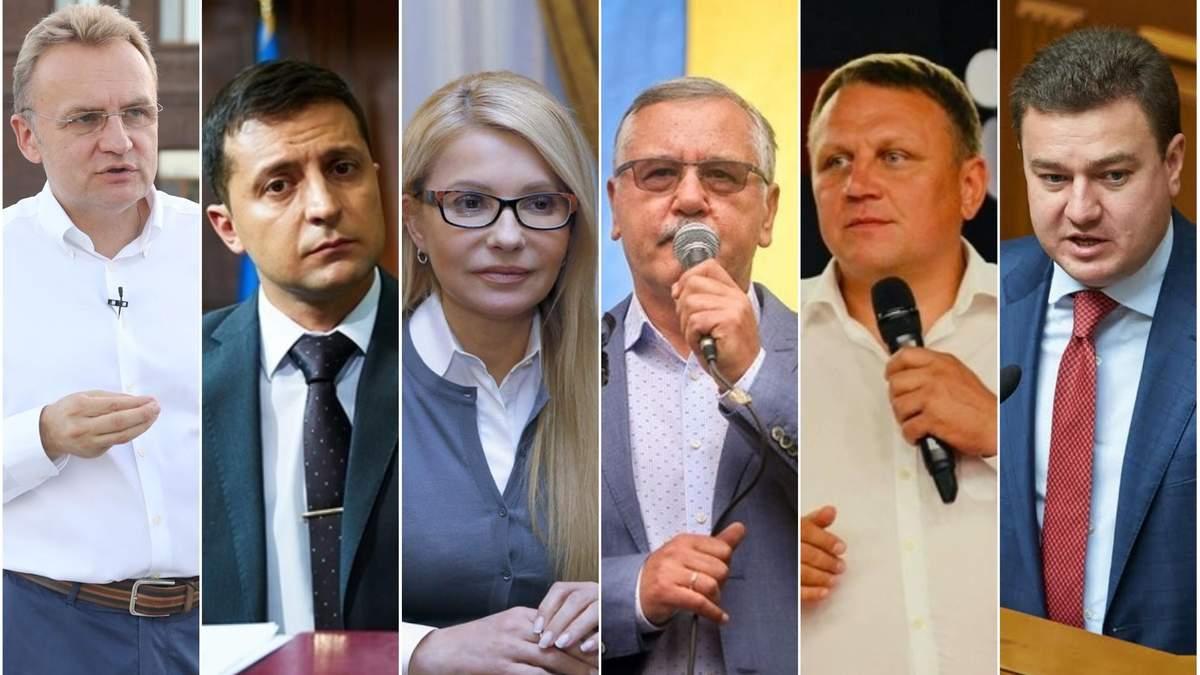Меморандум о выборах 2019 подписали кандидаты в президенты Украины 2019