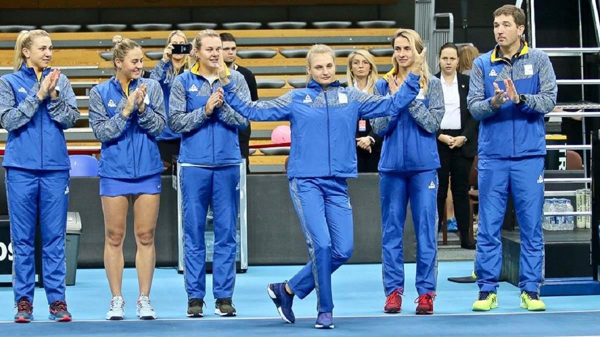 Женская сборная Украины по теннису
