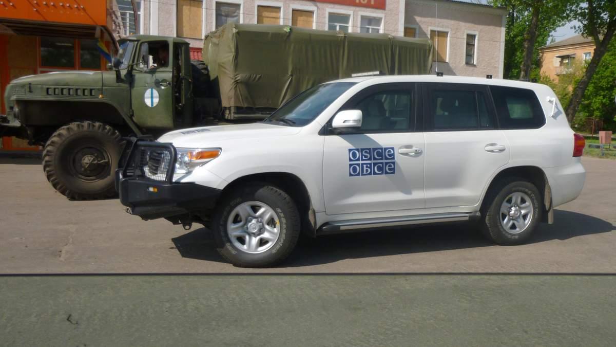Оккупанты не пустили наблюдателей ОБСЕ в оккупированный Новоазовск