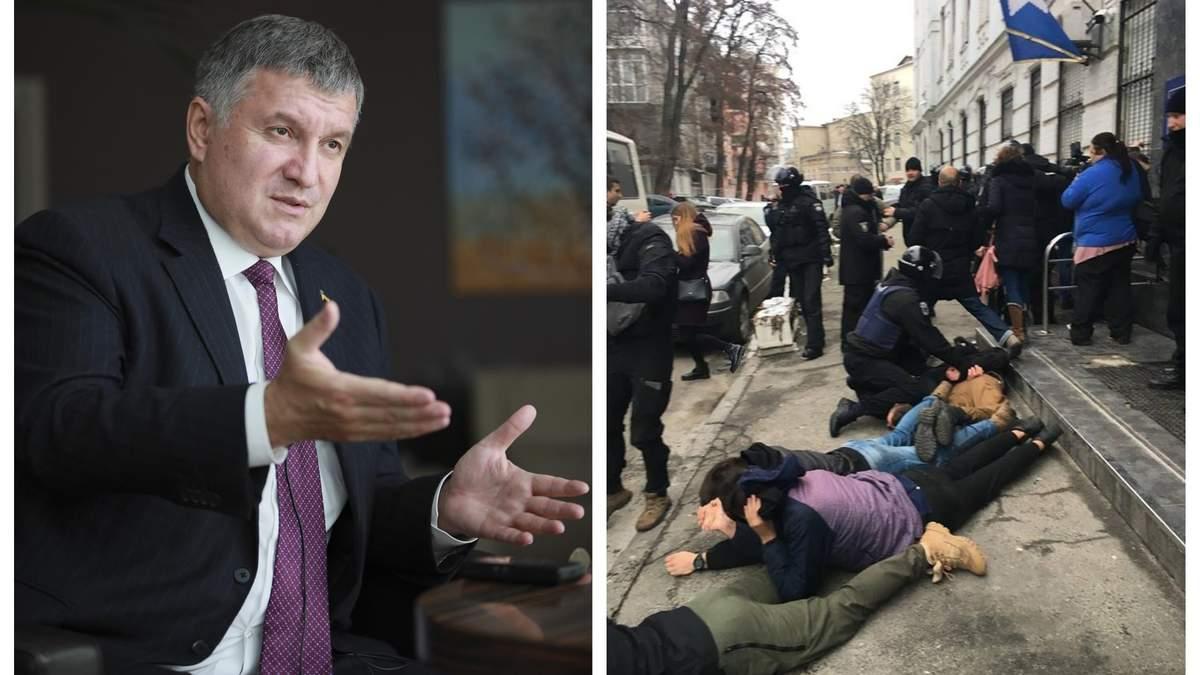 """Акаков став на захист поліції, яка затримала та побила учасників акції """"Хто замовив Катю Гандзюк?"""