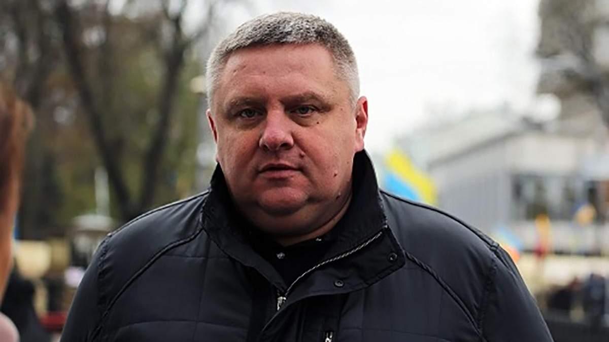 """Голова поліції Києва заявив, що затримані активісти не мали банерів """"Хто замовив Катю Гандзюк?"""""""