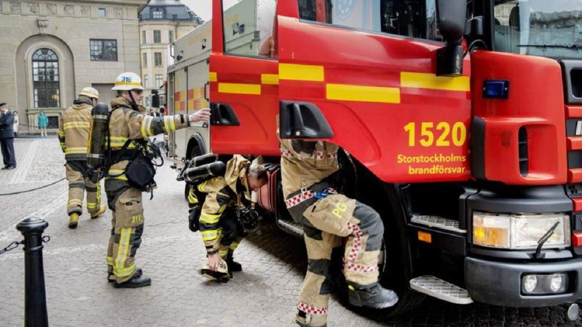 Вибух у Стокгольмі