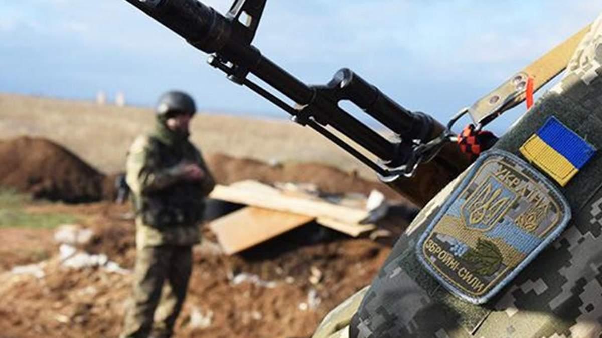 На Донбасі бійці ЗСУ ліквідували одного окупанта