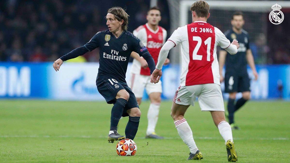 Аякс - Реал: відео голів, огляд матчу Ліги чемпіонів