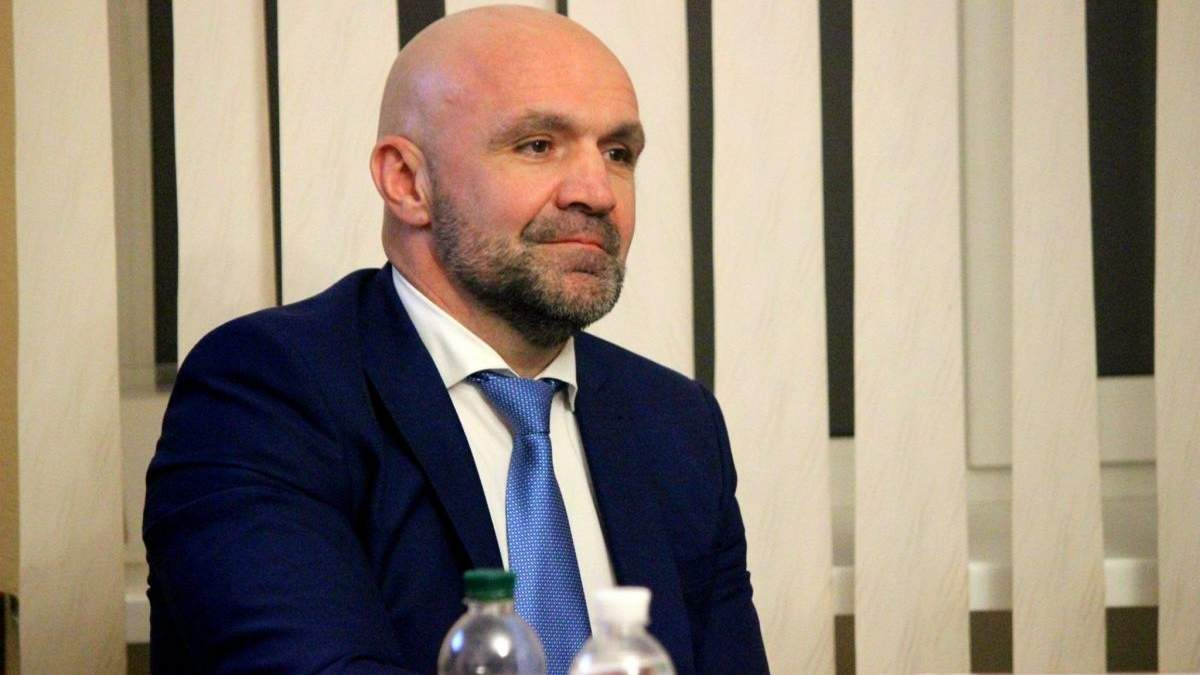 Голова Херсонської облради Владислав Мангер