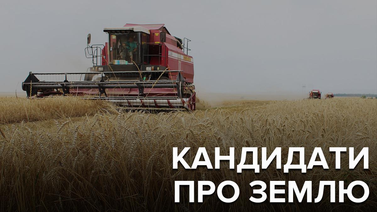 Вопрос рынка земли – краеугольный камень для украинских политиков