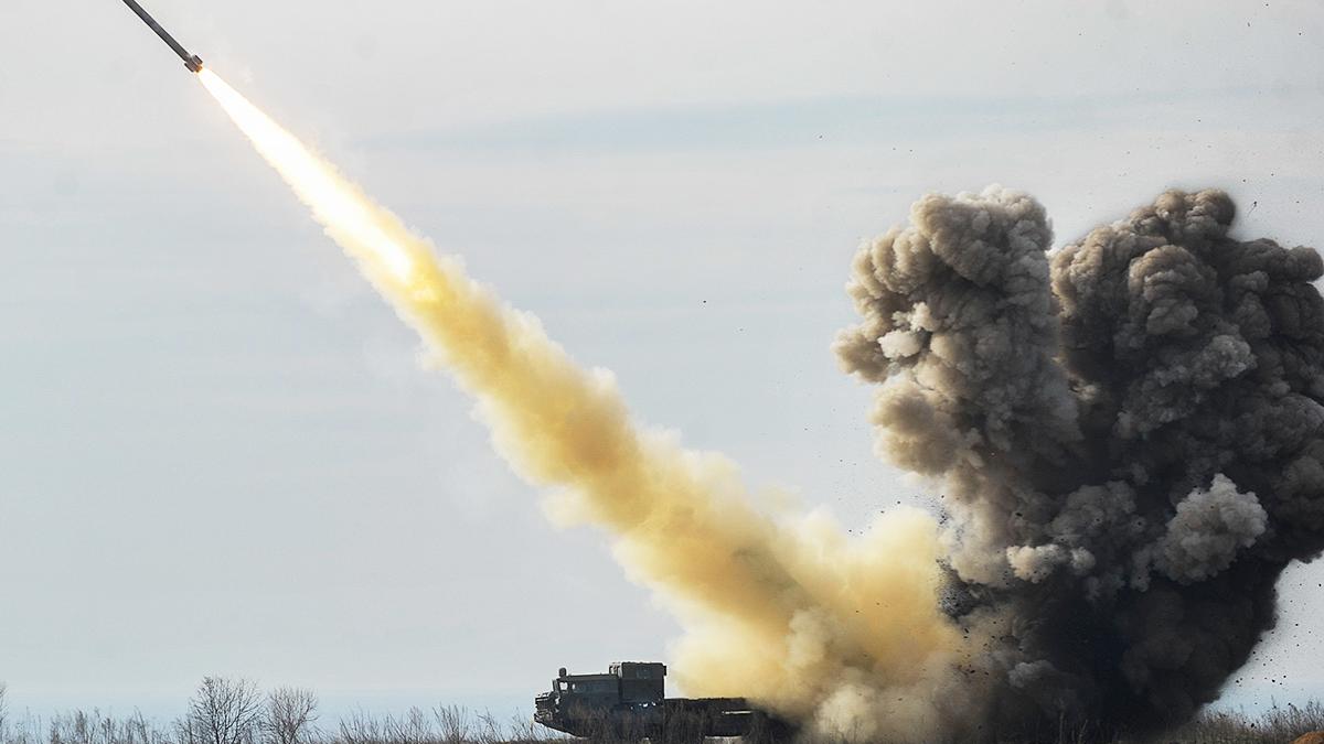 """Потужний ракетний комплекс """"Вільха"""""""