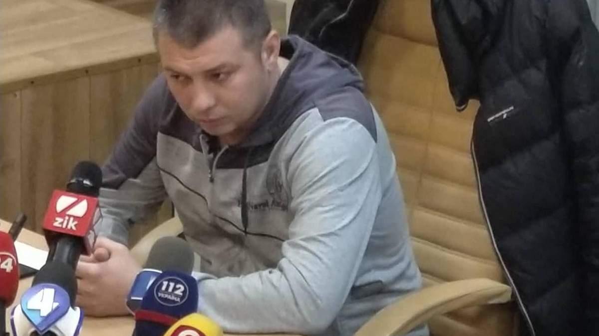 Лягай бандера - суд арештував капітана поліції Києва Мельникова