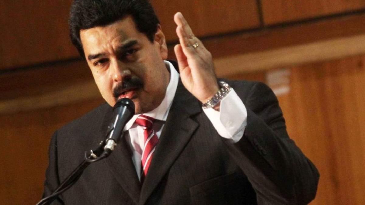 """Мадуро заявил, что направленная Венесуэле гуманитарная помощь """"испорчена и заражена"""""""
