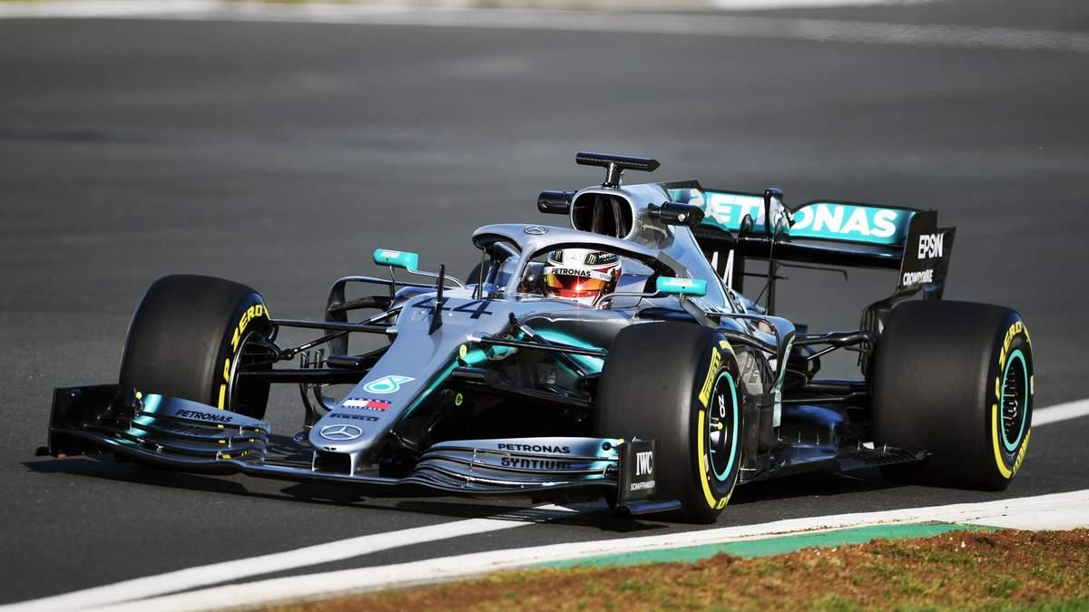 Хемілтон випробував новий болід Mercedes