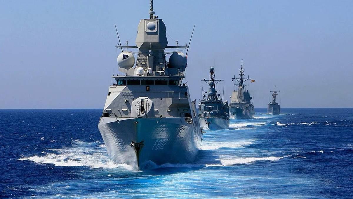 Кораблі НАТО за кілька днів увійдуть у Чорне море на навчання з ВМС України