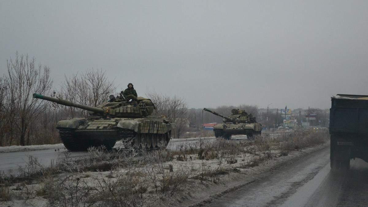 """Місія ОБСЄ зафіксувала гаубиці та """"Гради"""" на окупованому Донбасі"""