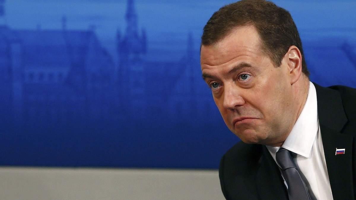 Медведєв заявив, що Росія не боїться жодних санкцій