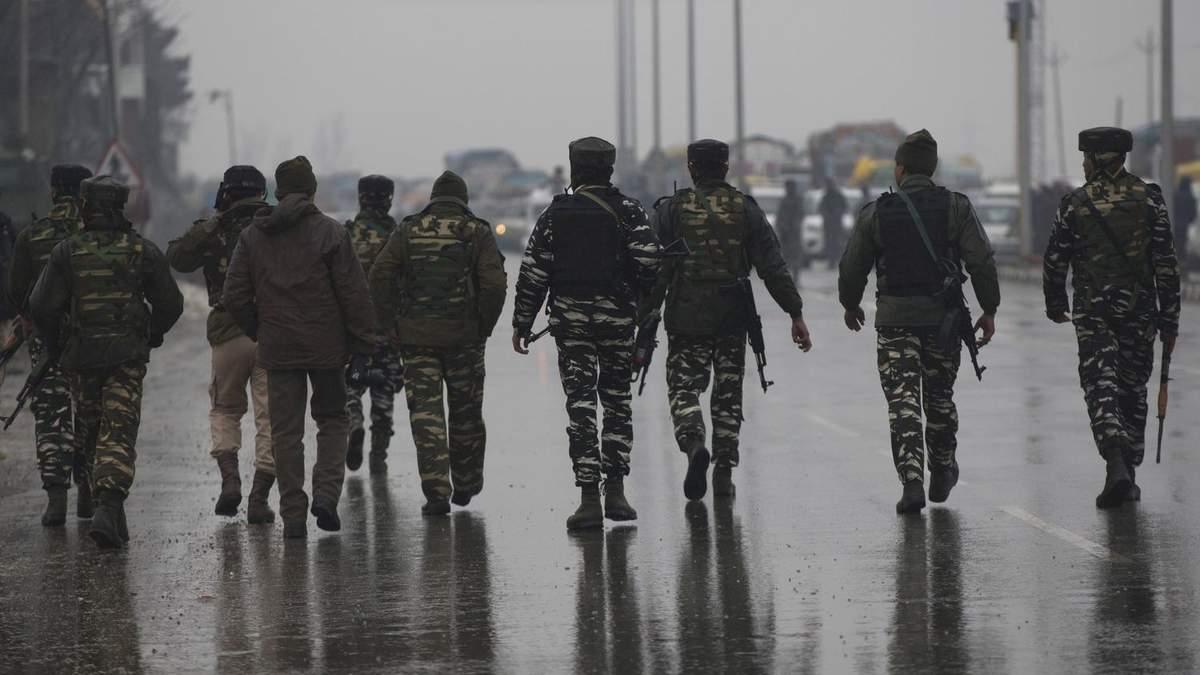 Індійські військові